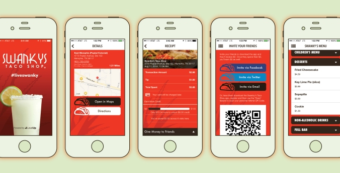 04-memphis-mobile-payments-restaurant-app-design-swanky's-taco-shop-level-up-loyalty-program-screenshots